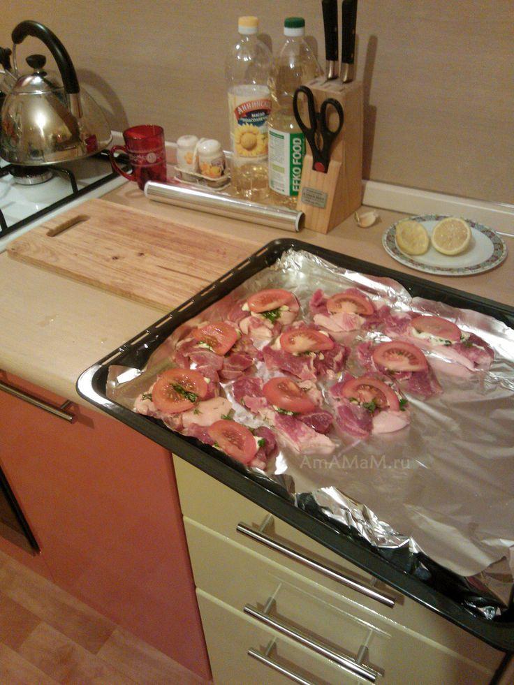 Приготовление мяса по-французски рецепт