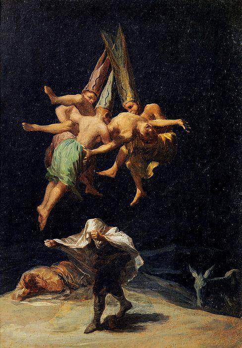 Witches' Flight  Francisco Goya