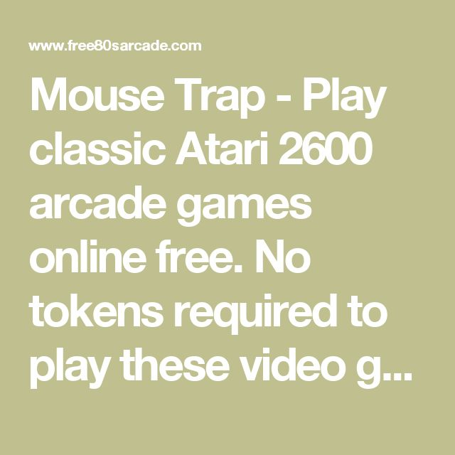 play free classic arcade games no