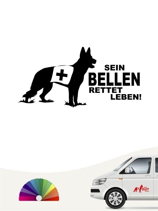 Rettungshund 9 Aufkleber In Eigener Farbe Grosse By Anfalas Rettungshunde Aufkleber Auto Aufkleber