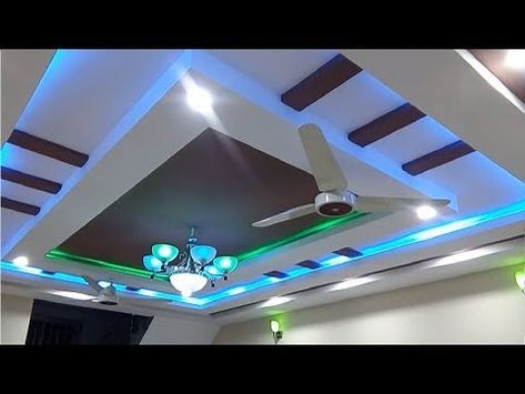 Latest Gypsum Ceiling Designs for Hall 2018 - YouTube ...