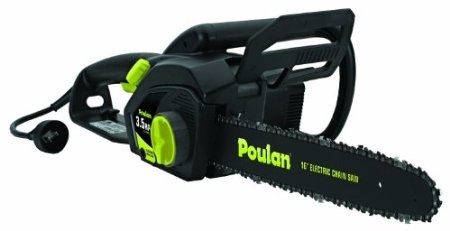 Amazon.com: Poulan PLN3516F 16-Inch 3.5 HP Electric Chain Saw: Patio, Lawn & Garden