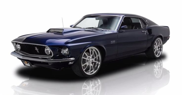 Supercharged 600hp 1969 Ford Mustang - Brutal Custom Muscle Car. Double click to see the video