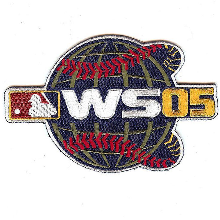 "MLB 4.5"" x 3.5"" 2005 World Series Patch"