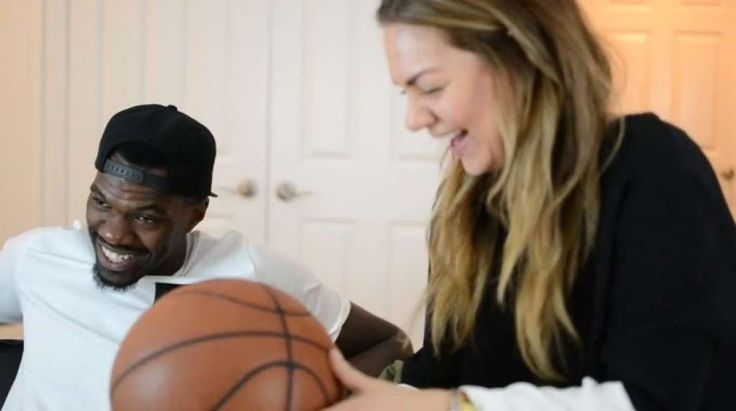"Dewayne Dedmon and Rocio Doyle's working relationship involves a lot of laughing thanks to his ""goofy personality,"" she said.  Photo: Provided By @tinylicious.co"