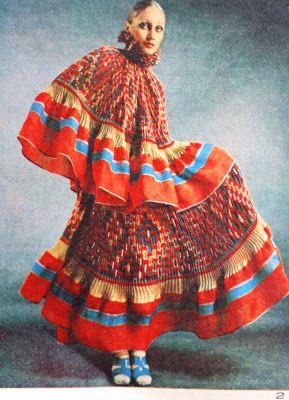 1970 çingene modası ve jarse elbise modelleri