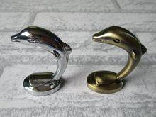 Дельфин потертый шик декоративные настенные крючки серебро античная бронзовая вешалки вешалка навигацион вешалки полотенце вешалка крюк(China (Mainland))