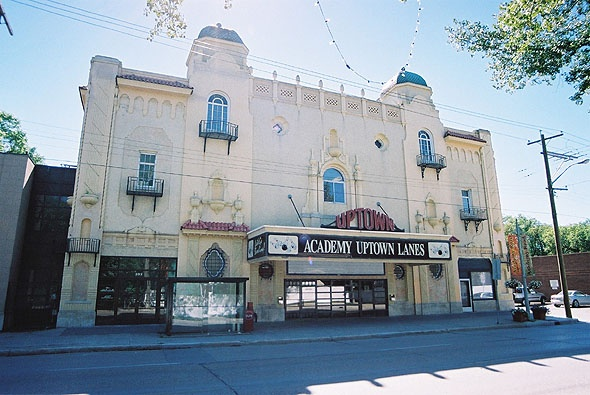 Uptown Theater - Now Academy Uptown Bowling #AcademyRoad #Winnipeg