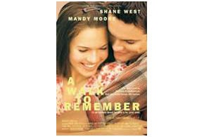 Parent's review and movie ratings for A Walk To Remember. Helps you know if your kids can go!