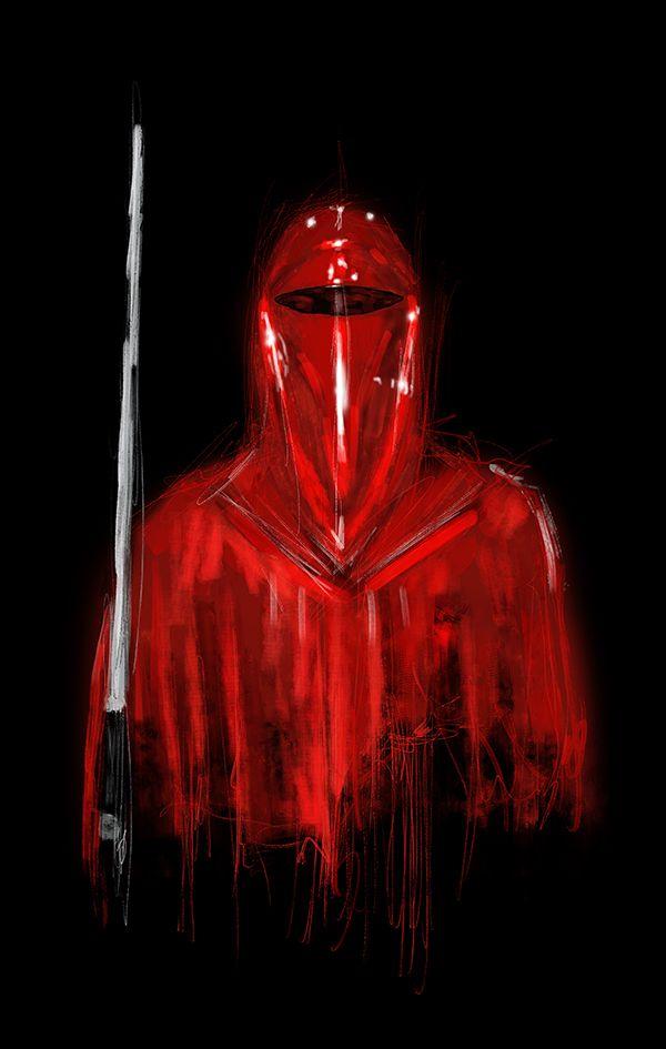 Star Wars Red Guard Wallpaper