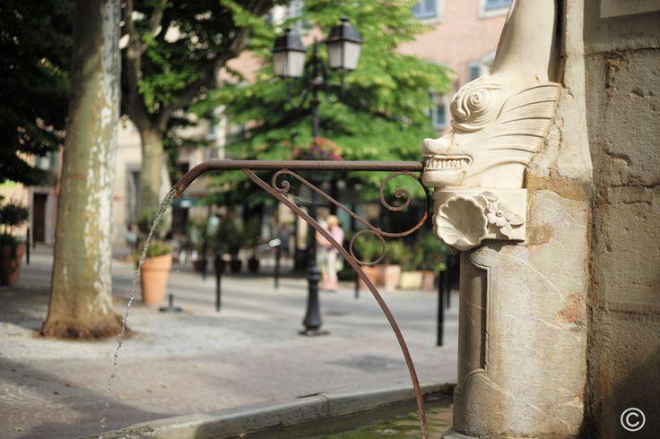 La fontaine de #Lorgues #Provence