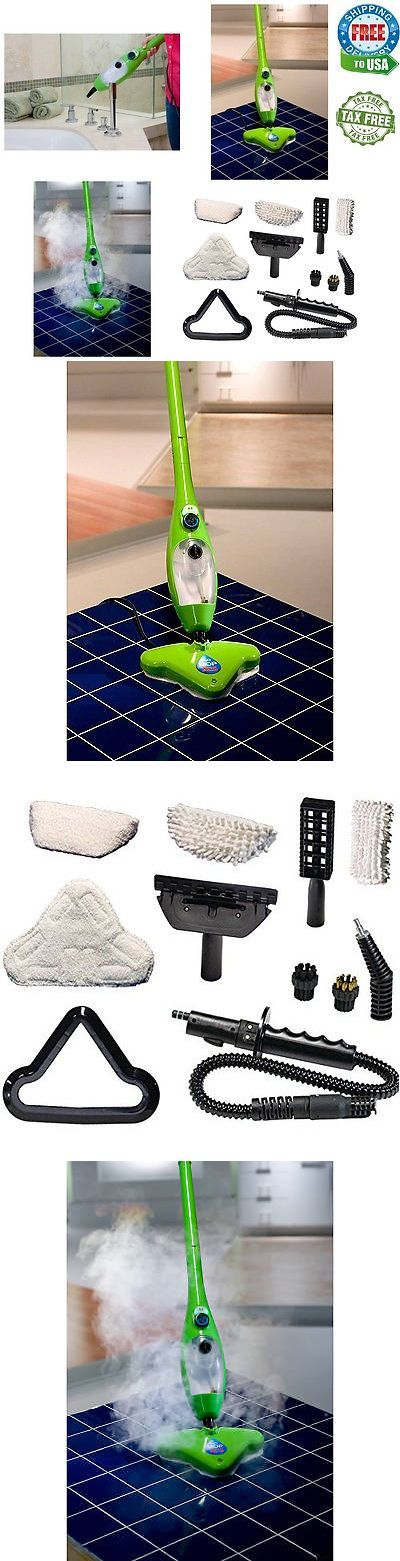 Mops and Brooms 20607: H2o X5 Steam Mop Hard Dirt Floor Carpet Cleaner Hand Held Home Machine New 5 In1 -> BUY IT NOW ONLY: $88.62 on eBay!