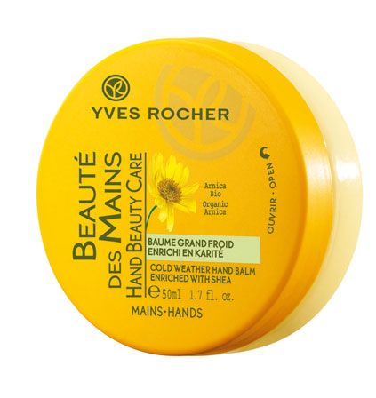 Yves Rocher Cold Weather Hand Balm Enriched with Shea
