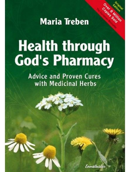 Health through God's Pharmacy by Maria Treben: Found the full book in PDF format at Swedish Bitters. See comment below for link.