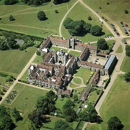 Knole Sevenoaks Kent Inspiration For Halstead Hall