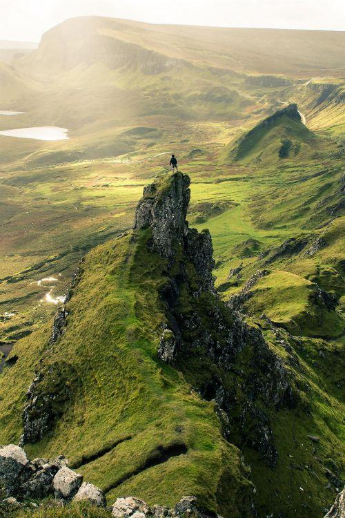 The Quiraing, Skye / Scotland by: Robert White
