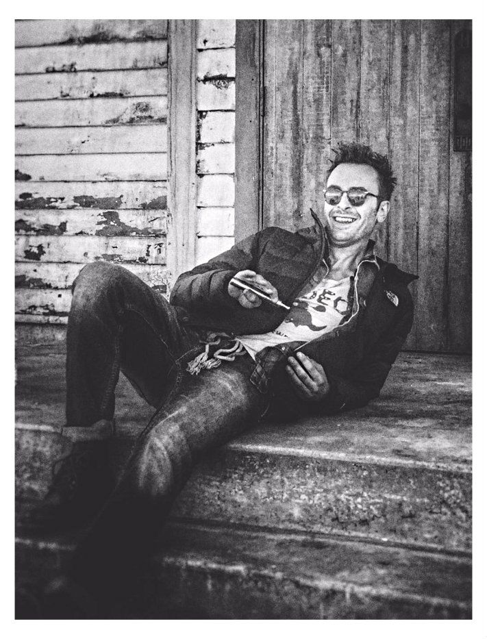Joseph Gilgun ( on Preacher set)