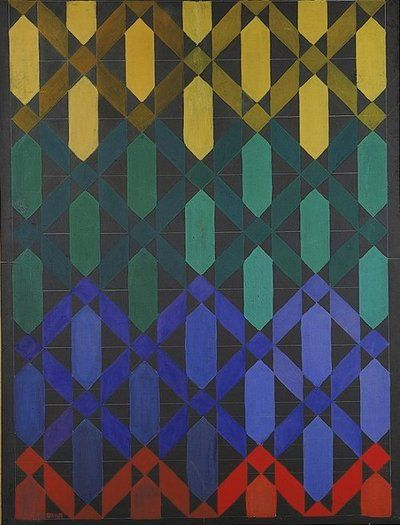 Giacomo Balla, Iridescent Interpenetration No.13, c. 1914