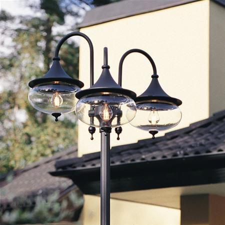 Konstsmide 621 Libra Aluminium Garden Post Light