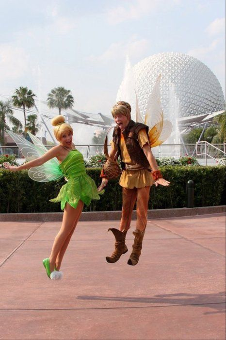 Tink and Terrence! This is too cute! #epcot