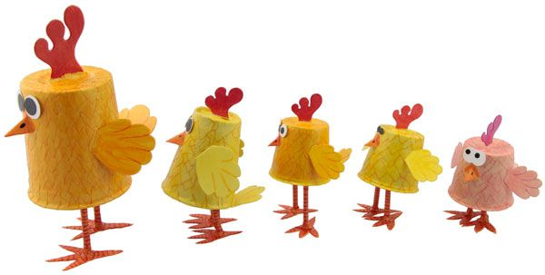 Fun Kids Crafts, Science Projects, and More | Dixie Chickens | LooLeDo | Crafts for Kids