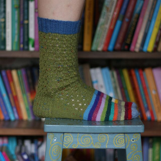 Hortensia socks by Coop Knits knit by craftzone