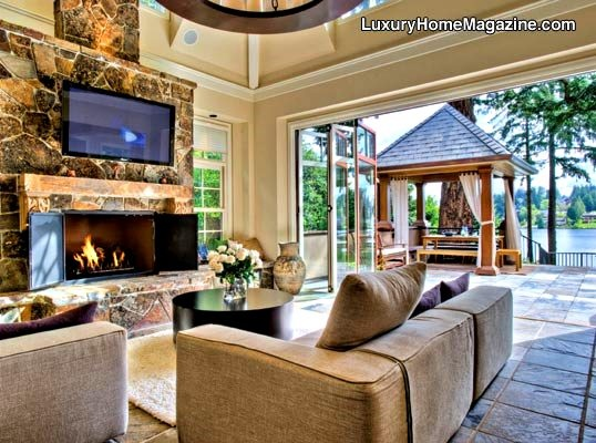 Luxury Home Magazine Seattle. Lake HousesBeach HousesLuxury ...