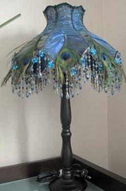 peacock tiffany lamp shade more