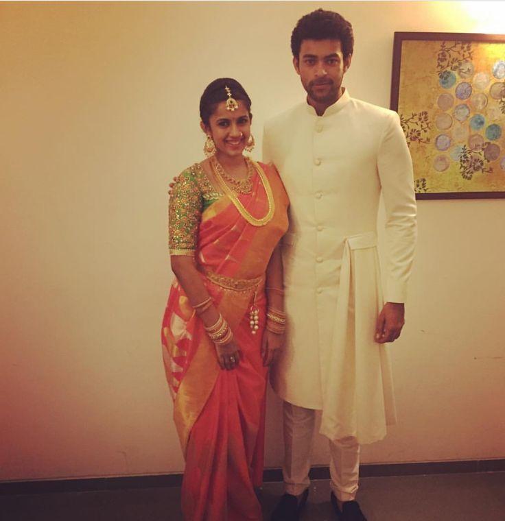 Srija marriage photos Varun & niha