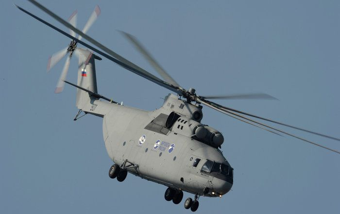 """The Russian Helicopters company discussed with Chinese partners possible deliveries of Mi-26TS heavy transport helicopters, the company's press service said Friday in a statement. """"During talks with Lectern Aviation Supplies Company, the prospects for supply of Mi-26TS heavy helicopters to China were discussed,"""" the statement reads. In addition, the company discussed the possibility of supplying medical version of Ansat helicopter to Beijing 999 Emergency Rescue Center."""