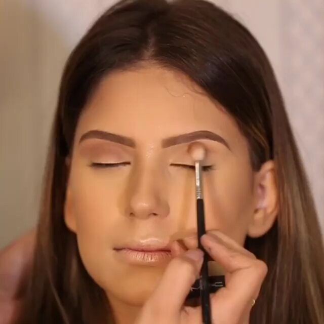 Mini Tutorial de maquiagem Maquiagem @lehpequenomakeup