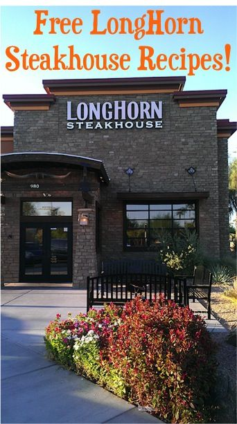 LongHorn Steakhouse Recipes {8 recipes to try at home!}