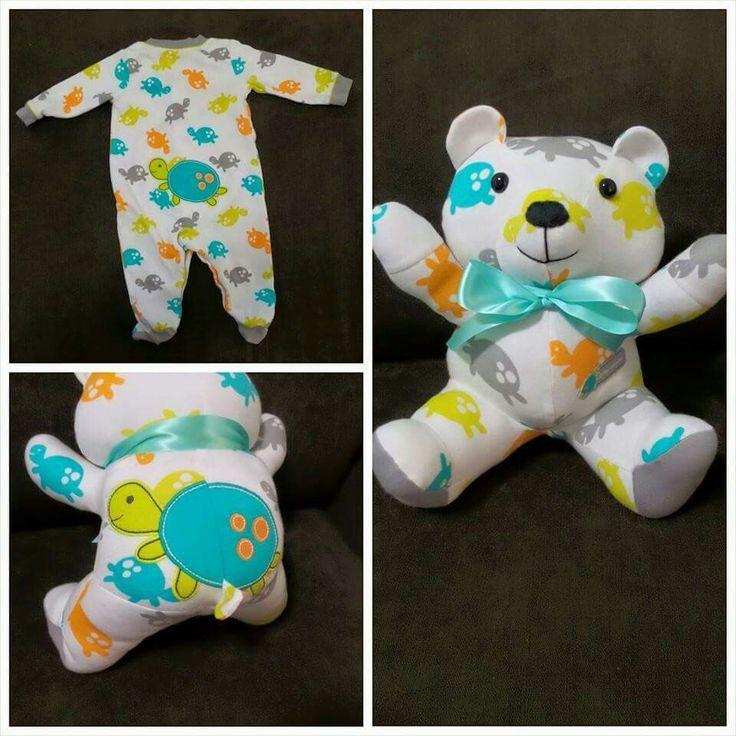 Sleeper Bears (made from outgrown pjs)