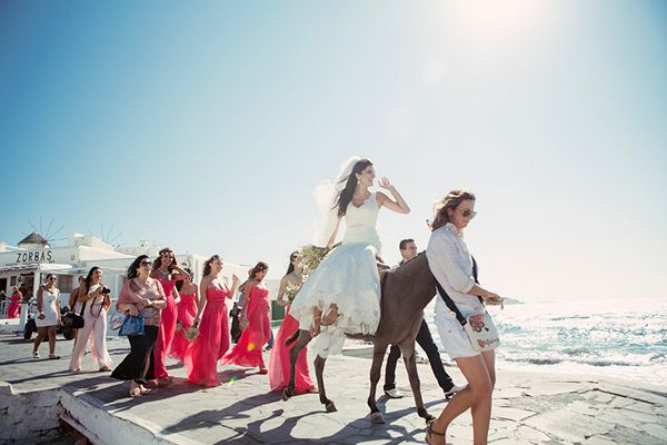 Gorgeous and romantic wedding in Mykonos!  http://www.love4wed.com/beach-wedding-mykonos/ #mykonosbride #mykonos #destinationwedding