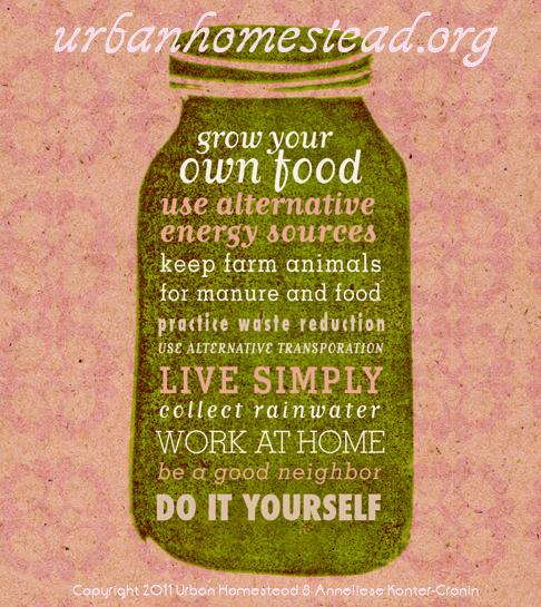 10 Elements of Urban Homesteading