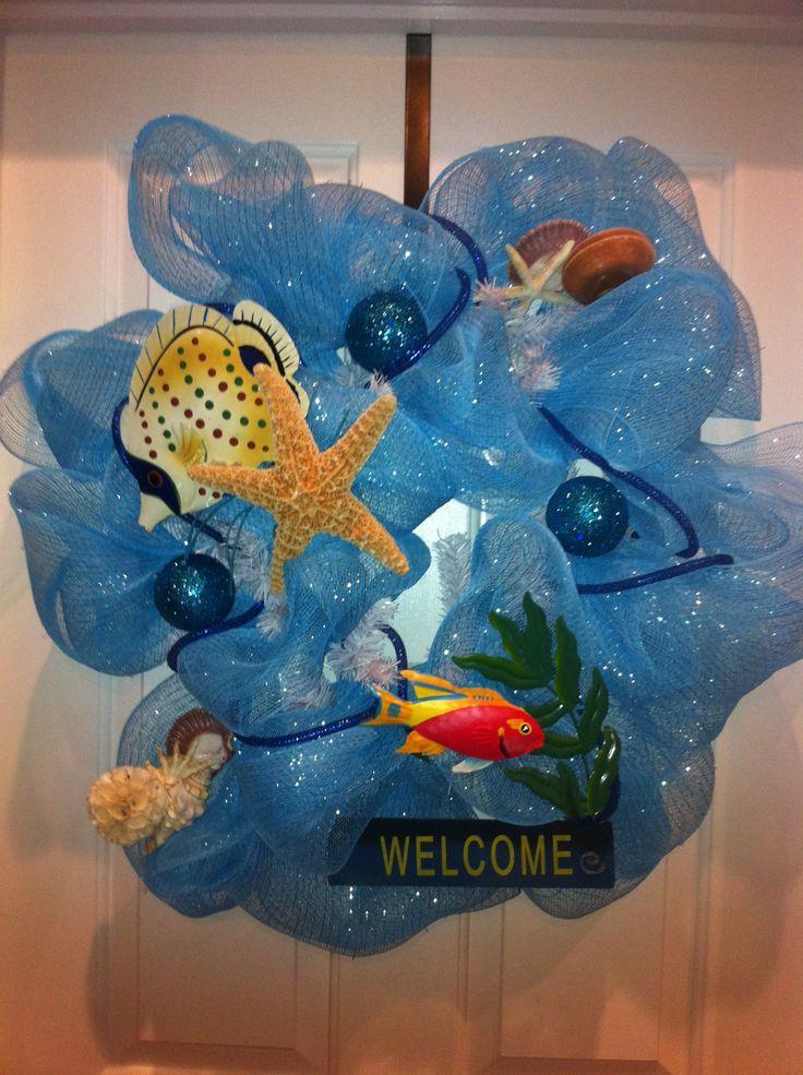 17 Best Images About Wreaths Beach Ocean On Pinterest