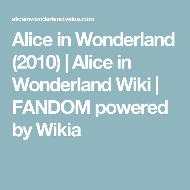 Alice in Wonderland (2010) | Alice in Wonderland Wiki | FANDOM powered by Wikia