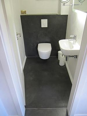 WC // beton unique - beton cire