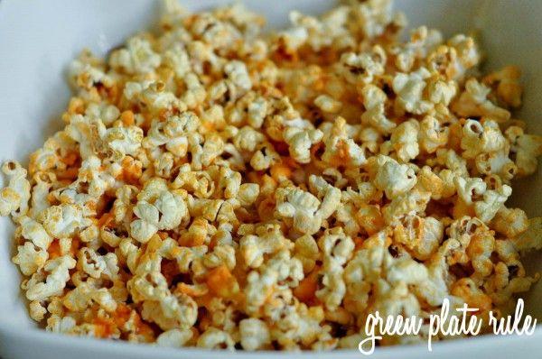 Buffalo Popcorn and reasons why you should make air-popped popcorn vs microwaved popcorn.