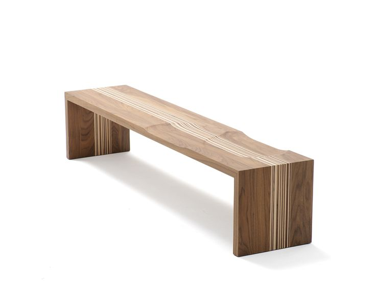 Code By Miriam Van Der Lubbe   Wooden Bench With A Barcode Pattern Created  In The