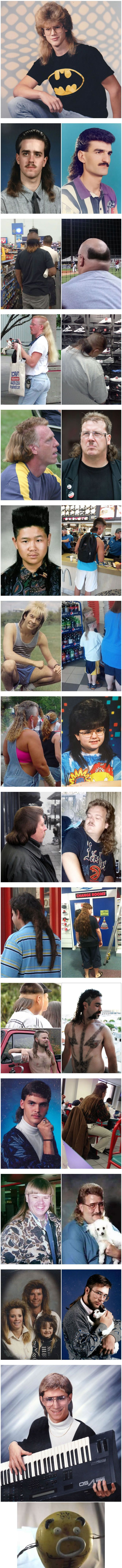 15+ WTF Photos Prove That Mullet Is The Worst Haircut In History