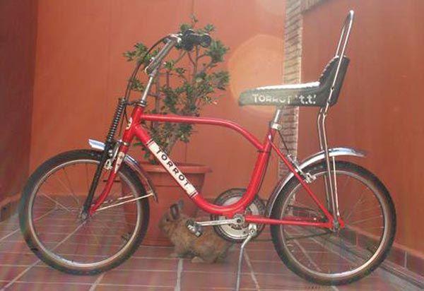La G.A.C sacó el modelo T.T. ´la bicicleta todoterreno`