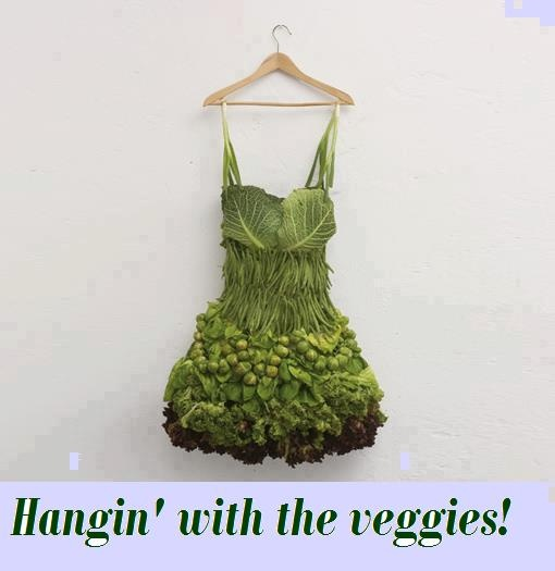 Vegetables can hydrate you more than a glass of water.....Fruit, Fashion, Veggies Dresses, Salad Dresses, Sarah Illenberger, Vegetables Dresses, Foodart, Food Art, Green Dresses