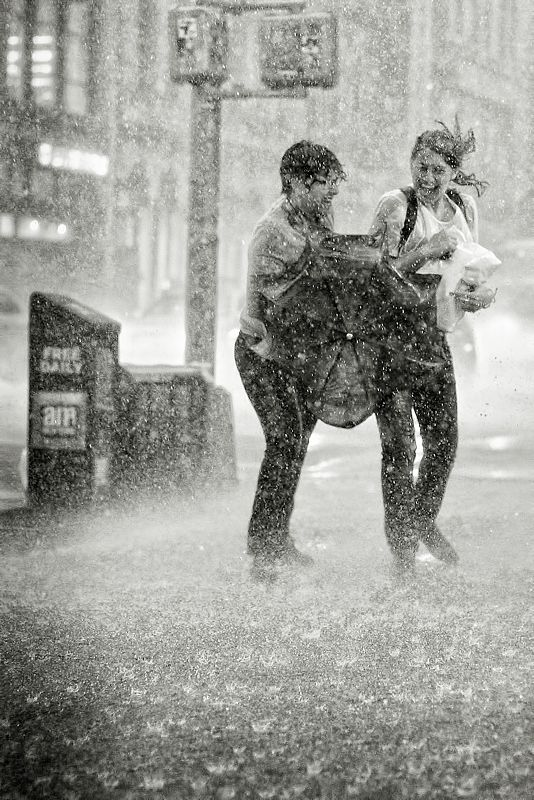 "NYC. September 16, 2010. Great storm in New York. // 500px / Photo ""Caught Out.."" by Owen G"