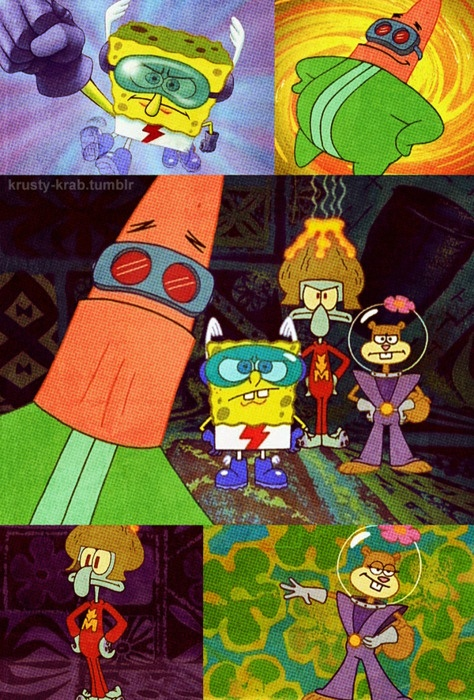 What were they called? The Team of Super Acquaintances? I don't remember