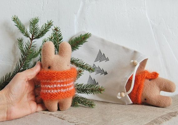 Gift for friend Small Toy Christmas Kids Gifts by IrinaMargarita