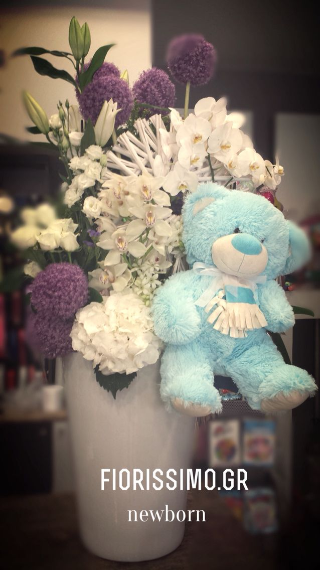 #newborn flower arrangement