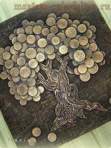 Картина из монет как обшить дом сайдингом своими руками видео бесплатно