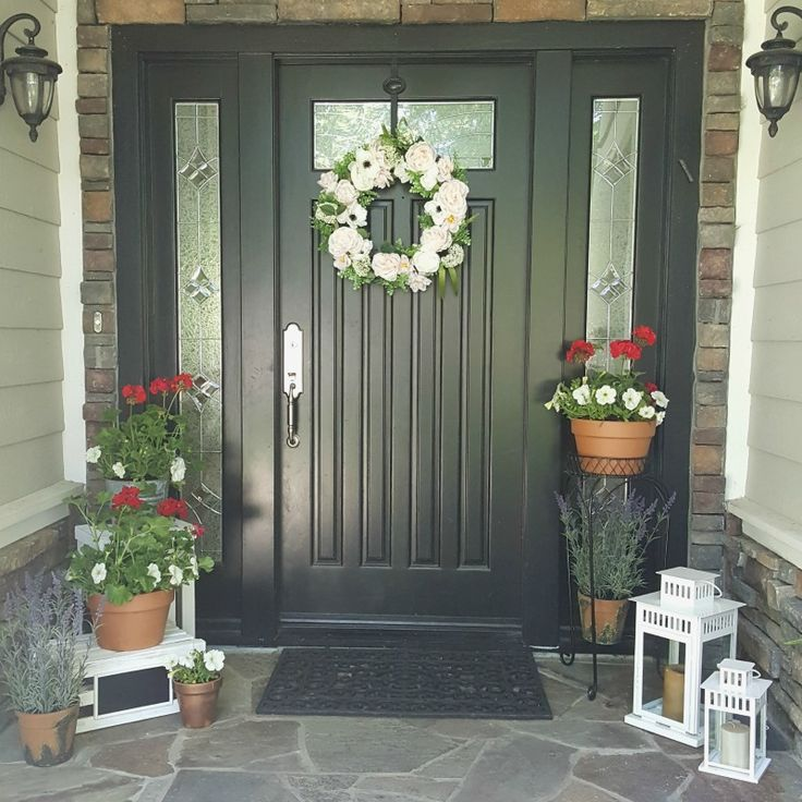 Front Entryway Decorating Ideas The Design Twins: How To Deck Out Your Springtime Entryway
