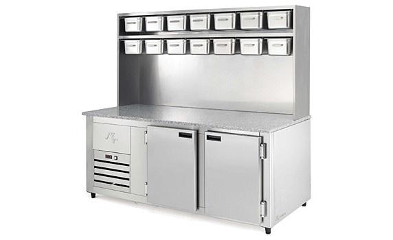 Mesa refrigerada / Cold counter / Mesa refrigerada / Tour réfrigérée